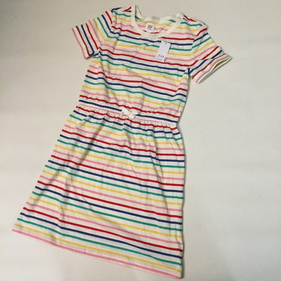 GAP Other - NWT Gap Kids striped dress large 10/11